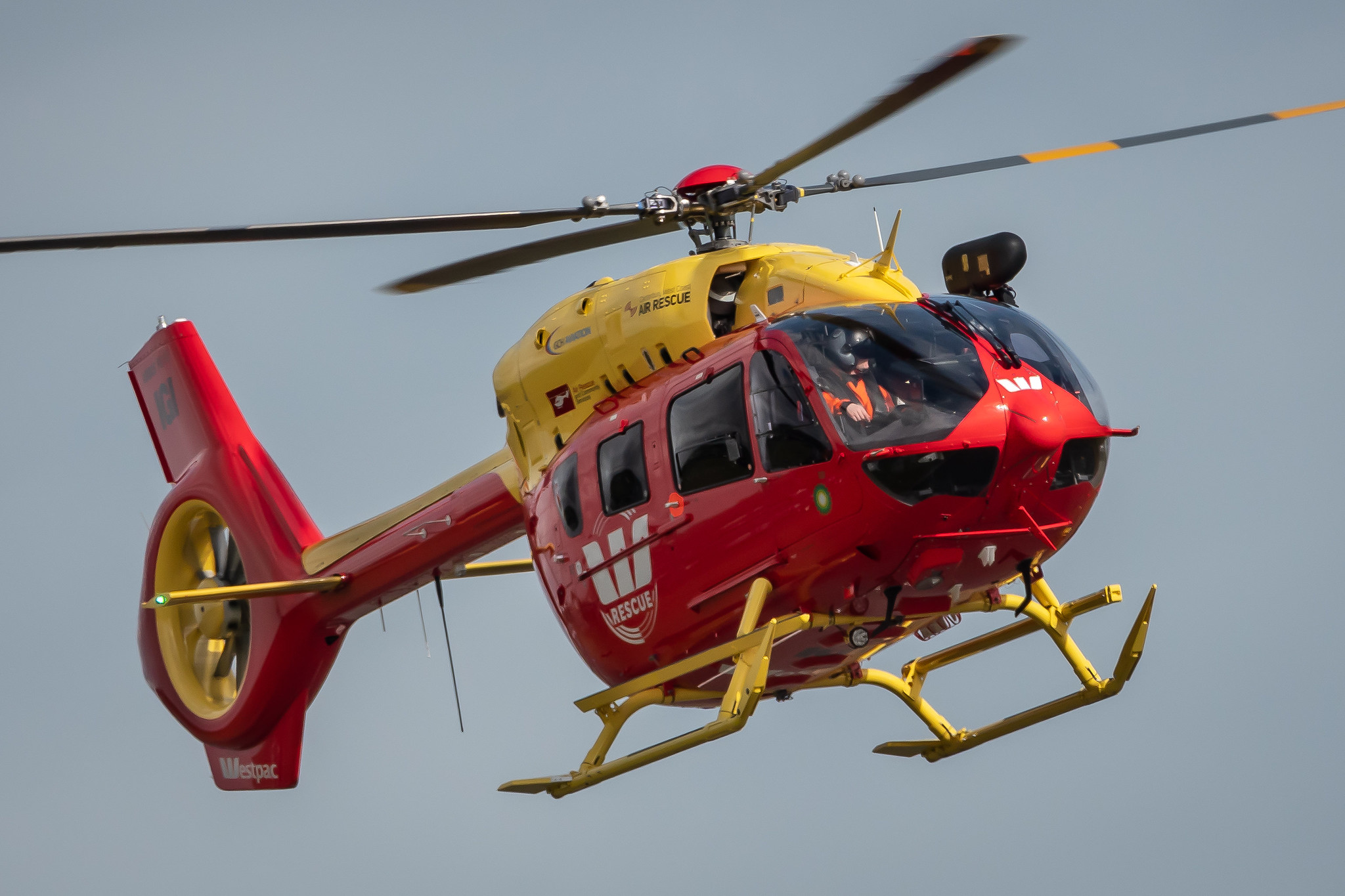 Westpac Rescue Helicopter (ZK-IGI) in Greymouth
